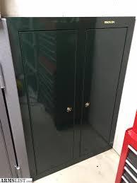 stack on double door gun cabinet armslist for sale stack on 16 gun double door cabinet