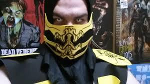 Mortal Kombat Scorpion Halloween Costume Mortal Kombat Scorpion Cosplay