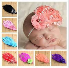 how to make baby hair bands new korean diy craft children s hair band chiffon flowers curled