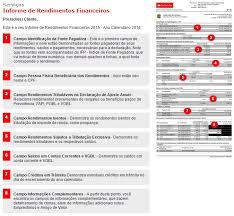 demonstrativo imposto de renda 2015 do banco do brasil como consultar o informe de rendimentos santander para o ir 2018