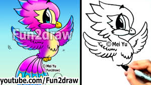 how to draw fantasy animals phoenix fun things to draw