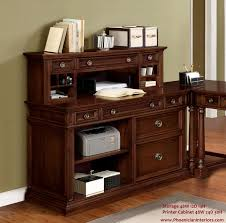 file and storage cabinet printer file cabinet and desktop storage hutch