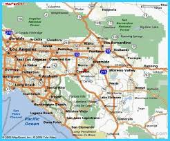 riverside map map of riverside california vacations travel map