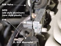 ford dpfe sensor and egr system ricks free auto repair advice