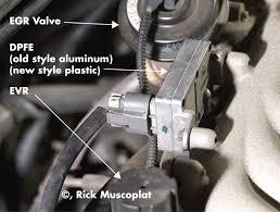 ford dpfe sensor and egr system ricks free auto repair advice