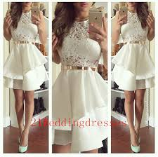white lace prom dress hot sales white lace prom dresses homecoming dresses