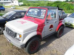 jeep samurai for sale a list of all the jurassic park liveried vehicles i could find