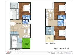 duplex house plan 6 20x45 duplex floor plan httpwwwnethomesinprojectsphp duplex