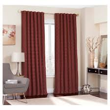 Brown Blackout Curtains Adalyn Blackout Curtain Eclipse Target