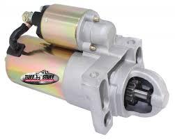 general motors starter ls1 starter ls1 tuff stuff performance gear reduction starter straight mounting block zinc 6492b