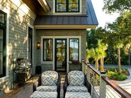 design trend black window trim green siding black windows and