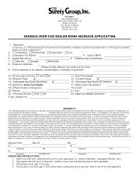 Car Dealer Bill Of Sale Form by Auto Sales Contract Template Masir