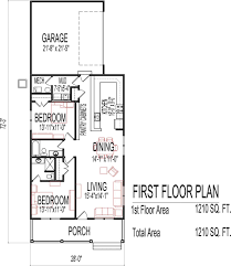 apartments garage plans with apartment one story small low cost
