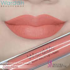 Lipstik Wardah wardah exclusive matte lip 05 speachless dan 08 pinkcredible