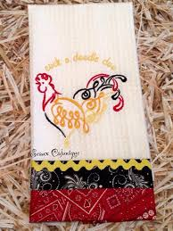 Machine Embroidery Designs For Kitchen Towels 40 Best Guest Towels And Kitchen Towels Images On Pinterest