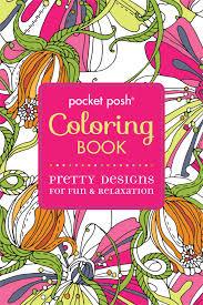 pocket posh coloring book pretty designs for