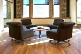 allsteel linger chair all around table gather collaborative