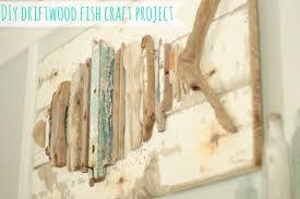 driftwood fish sand and sisal