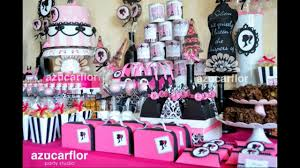 Baby Shower Barbie by Ideas De Mesas Dulces De Barbie Youtube