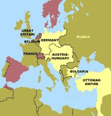 Ottoman Empire World War 1 Ottoman Empire An Introduction To World War I Mrdowling