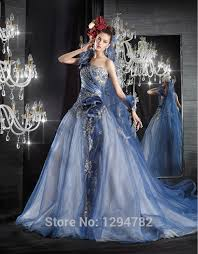 saphire blue wedding dresses junoir bridesmaid dresses