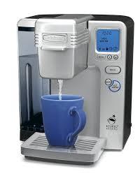 amazon com cuisinart ss 700 single serve brewing system silver