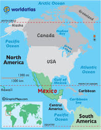 mexico on map mexico map map of mexico united states map mexico maps