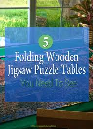 Jigsaw Puzzles Tables Folding Wooden Jigsaw Puzzle Table Jigsaw Puzzles For Adults