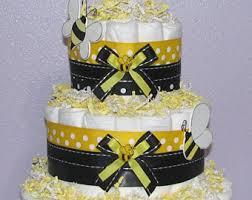 bee diaper cake etsy