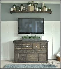 gorgeous pottery barn style ikea media shelf makeover giddy upcycled