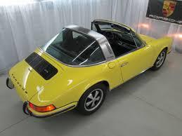 1972 porsche 911 targa for sale porsche 911 targa 1972 light yellow for sale xfgiven vin