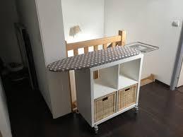 Vaisselier Pas Cher Ikea by Un Meuble Table à Repasser Sur Roulettes Ikea Hack Laundry