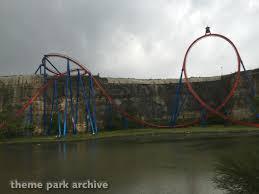Six Flags San Antonio Superman Krypton Coaster At Six Flags Fiesta Texas Theme Park