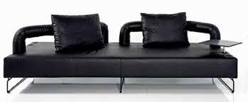 Microfiber Contemporary Sofa Living Room Black Microfiber Contemporary Sofa Sofa Plupp