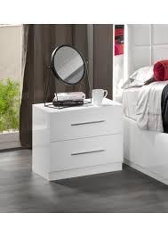 chambre a coucher blanc laqu chambre a coucher blanc laqu gallery of amazonie laqu blanc et noir