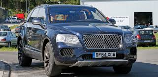bentley bentayga 2015 bentayga spied practically production ready