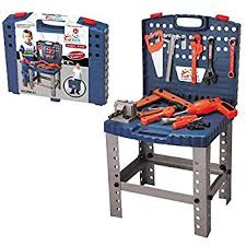 Workman Tool Bench Amazon Com Toy Tool Set Workbench Kids Workshop Toolbench Toys
