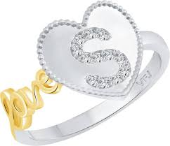 s ring luxury gold ring with alphabet jewellry s website