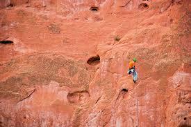 Rock Climbing Garden Of The Gods Rock Climbing In The Gardens Of The Gods Photograph By Dariusz