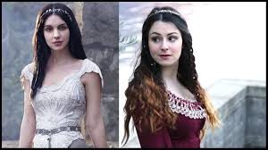 reign tv show hair beads mary stuart reign inspired makeup hair and outfit beauty and