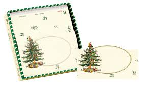deluxe place cards spode christmas tree