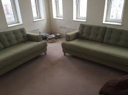 Heals Sofa Bed Mistral 2 X Three Seater Sofa S And One Footstool Set Heals In