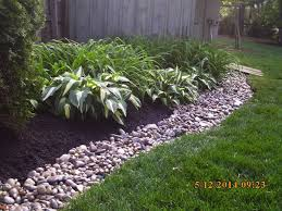 River Rock Garden Bed River Rock Raised Garden Beds Bed Inn And Deli Cafe Wall