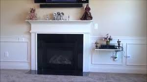 Mounting A Tv Over A Gas Fireplace by How To Install Your Flat Screen Tv Without Wires Showing Youtube