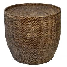 round rattan side table theo and joe plantation rattan side table round theo and joe from