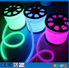 feet spool 24v 360 degree purple led neon lights for rooms dia