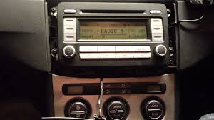 how to remove oe stereo radio from vw passat b6 3c 2005 2011 bojo