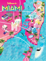 Miami Beach Map Experiential Events Brand Activation 360º Campaigns Digital