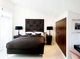 black headboard for the modern bedroom modern house design
