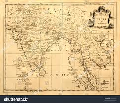 Map Of East And Southeast Asia by This Vintage Map India Southeast Asia Stock Photo 8239654